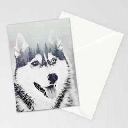 Huskie Stationery Cards