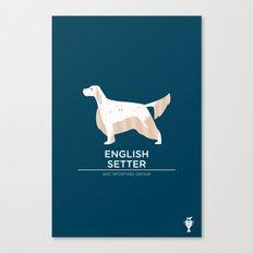 English Setter Canvas Print