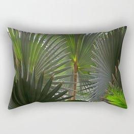 Frolicking Fronds Rectangular Pillow