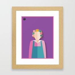 Dona Florinda Framed Art Print
