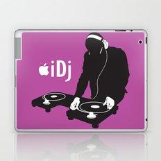 I DJ (Pink)  Laptop & iPad Skin