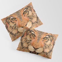 Boho Tribal Tiger Pillow Sham