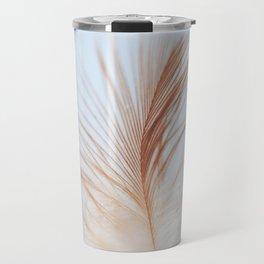 FEATHER cream look - animal colletion Travel Mug