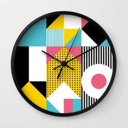 Bauhaus Graphic #01 Wall Clock