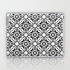Black and white geometric Laptop & iPad Skin