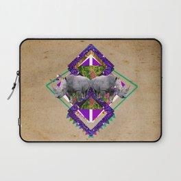 Rhinoceroses  Laptop Sleeve