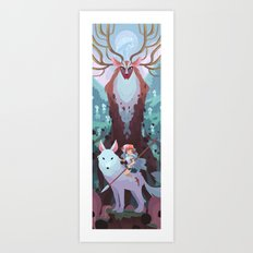 Return of the forest Art Print
