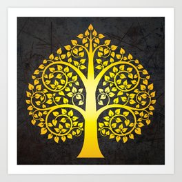 Bodhi Tree0103 Art Print