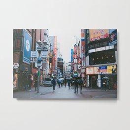 Tokyo City japan Metal Print