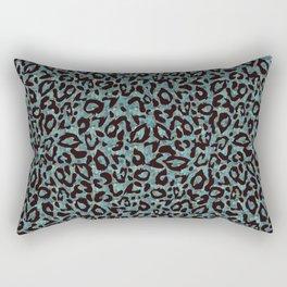 Cheetah Leopard Print Pattern Rectangular Pillow
