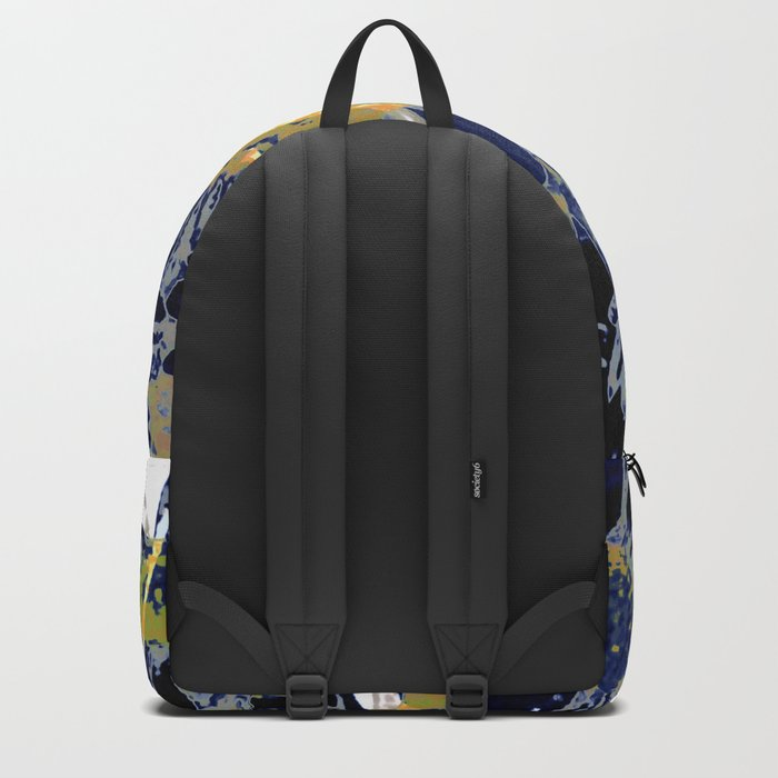 daisies on astract bakground Backpack