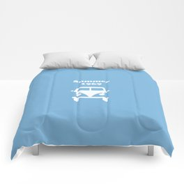 Summer 1969 -  lt. blue Comforters