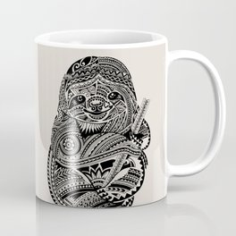 Polynesian Sloth Coffee Mug