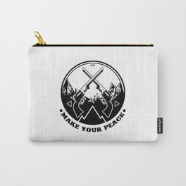 Make Your Peace Carry-All Pouch