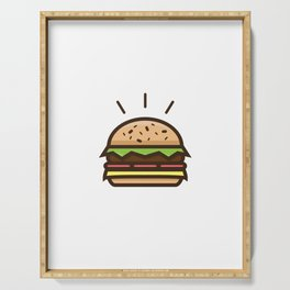 Cheeseburger Serving Tray