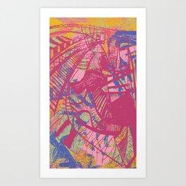 The Thrill Art Print