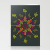 vegetable Stationery Cards featuring Vegetable Medley by Veronica Galbraith