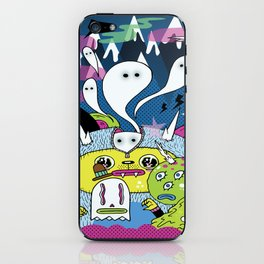 Spooky Spirits  iPhone Skin