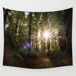 Forest Flare Wall Tapestry