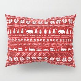 California Christmas Pattern Pillow Sham