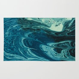 deep dirty pool texture Rug