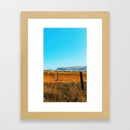 Headed West Framed Art Print