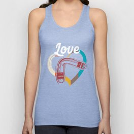 Love Boomerang Sports Athlete Competitive Sports Athletic Gifts Unisex Tank Top