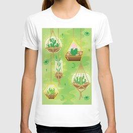 Cacti Terrariums T-shirt