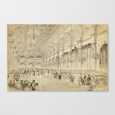 Grand Ball Hotel De Ville Paris Canvas Print