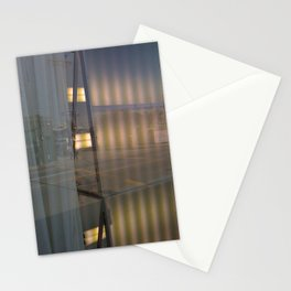 Curtains Stationery Cards