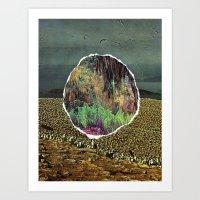 portal Art Prints featuring portal  by delilah jones
