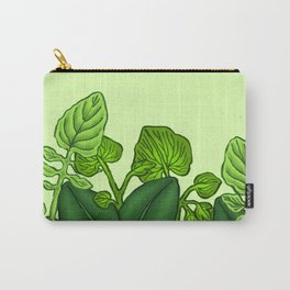 Key Lime Leaves Carry-All Pouch