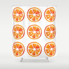 Orage slice pattern Shower Curtain