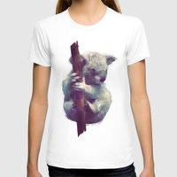 koala T-shirts featuring Koala by Amy Hamilton