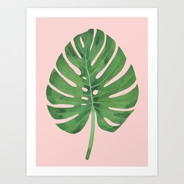 SWISS CHEESE PLANT 03, by Frank-Joseph Art Print