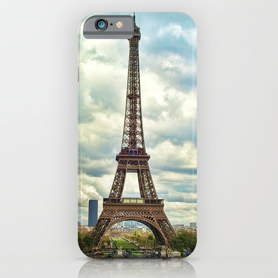 Dramatic Eiffel  iPhone & iPod Case