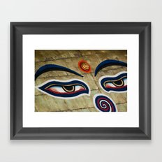 The Watchful One Framed Art Print
