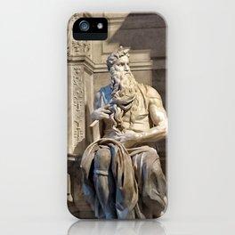 Moisés iPhone Case