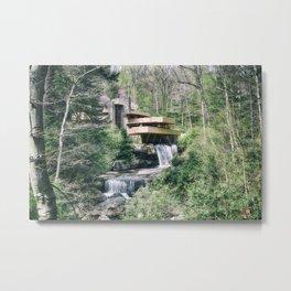 Fallingwater Metal Print