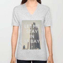 San Francisco (Let Me Stay in SF Bay) Unisex V-Neck