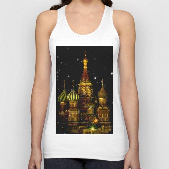 Moscow Night Unisex Tank Top