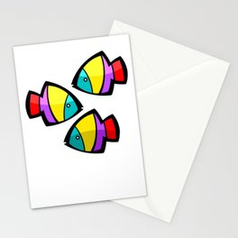 Color Fisch. Stationery Cards