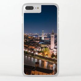 Verona By Night Clear iPhone Case