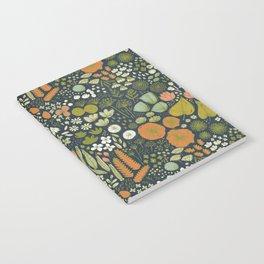 Botanical Sketchbook M+M Navy by Friztin Notebook