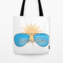 Sunshine & Summer Time Tote Bag