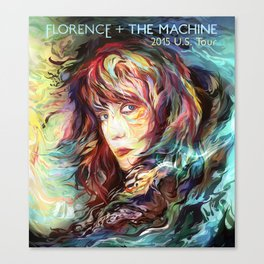 FLORENCE THE MACHINE TOUR DATES 2019 GURITA Canvas Print