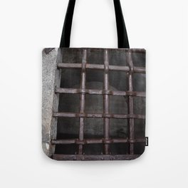 Prison Window Tote Bag