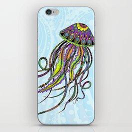 Electric Jellyfish iPhone Skin