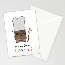 Wanna Some Cakes? Stationery Cards