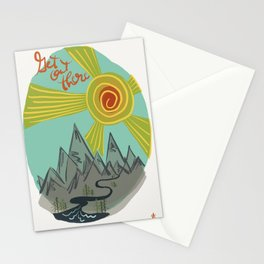 Get Out There Stationery Cards